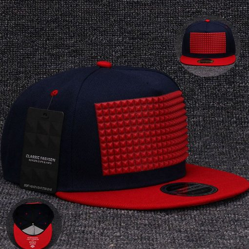 plein-de-gadget-casquette-snapback-pyramide-flex-bleu-rouge